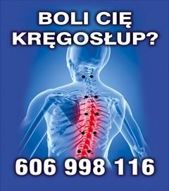 ból kręgosłupa poznań