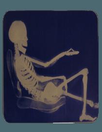 Leżenie na fotelu